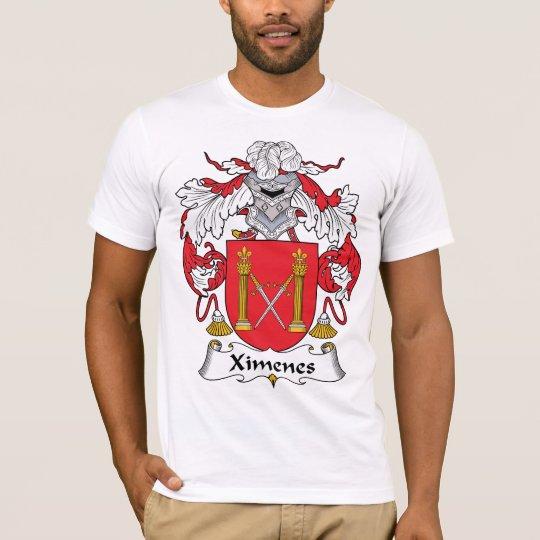 Ximenes Family Crest T-Shirt