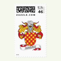 Ximenez Family Crest Stamps