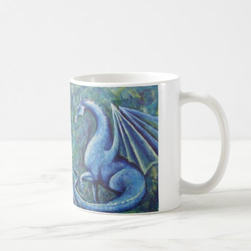 Xin Dragons Classic White Coffee Mug