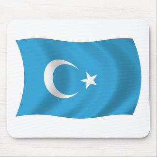 Xinjianj Uigur Flag Mousepad