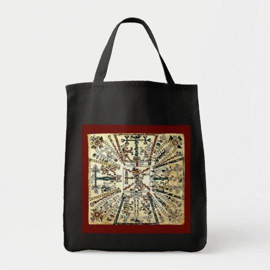 Xiuhtecuhtli Aztec Death God Tote Bag