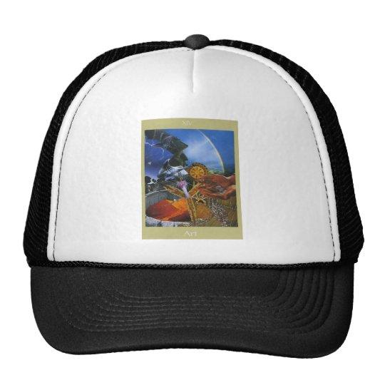 XIV Art Voyager Tarot Trucker Hat