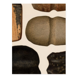 XIX Stone implements, New Mexico Post Card
