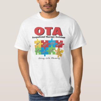 XL Occupational Therapy Assistant T Shirt XL