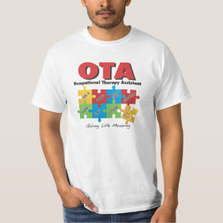 XL Occupational Therapy Assistant T Shirt XLg