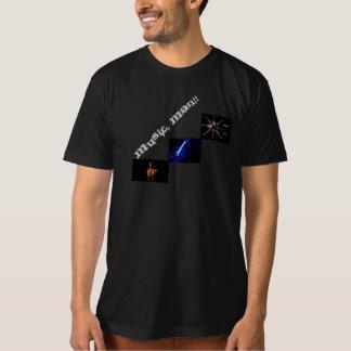 XL Organic Black T-Shirt - Music, Man!!