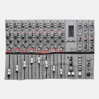 XL Studio Gear Dust Cover: Audio Mixer Design Kitchen Towel