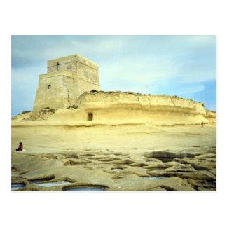Xlendi, Malta Desert Postcard