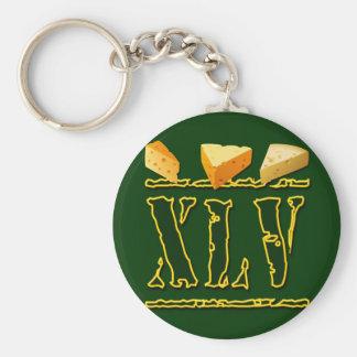 XLV Cheeseheads Llavero Redondo Tipo Pin