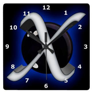 Xmachine Square Wall Clock
