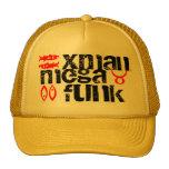 xman, mega, funk, k, a, x trucker hat