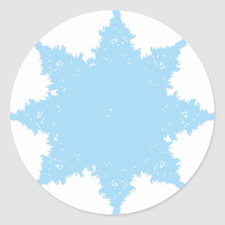 xmas1.png classic round sticker