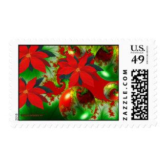 Xmas Abstract Stamp