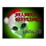 xmas_alien_card tarjeta postal