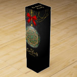 "Xmas and Happy New Year,  Monogram Your Own Wine Box<br><div class=""desc"">Digital</div>"