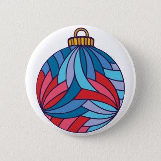 Xmas Ball Pinback Button