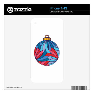 Xmas Ball Skins For The iPhone 4S