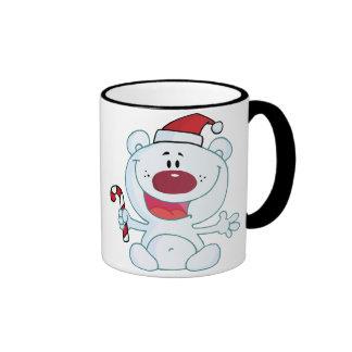 Xmas Bear Ringer Mug