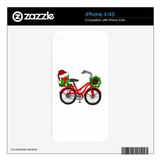 xmas bike decals for the iPhone 4S