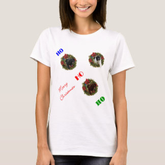 Xmas Black Brown LandseNewf Newfoundland Christmas T-Shirt