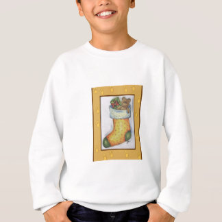 xmas boot sweatshirt
