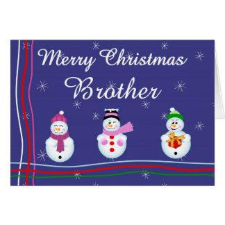 Xmas brother card