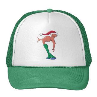Xmas Caller Mesh Hat