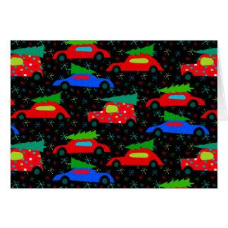 Xmas Cars Card