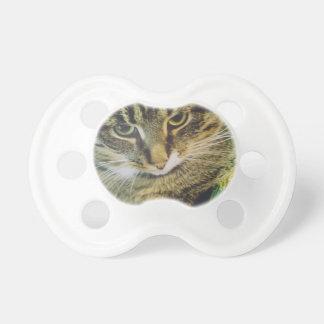 Xmas Cat Portrait 3 Pacifier