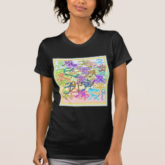 XMAS CELEBRATION ART - jumbled CHINESE CHARACTERS T-Shirt