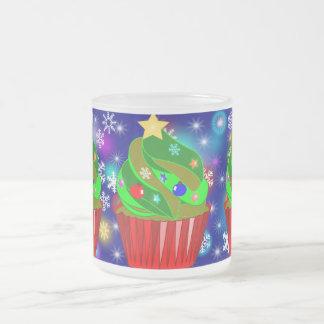 xmas ,christmas,cupcake xmas tree mugs
