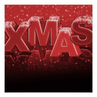 Xmas Christmas Perfect Poster