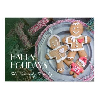 Xmas cookies card