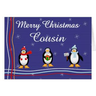 Xmas Cousin Card