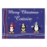 Xmas Cousin Greeting Cards