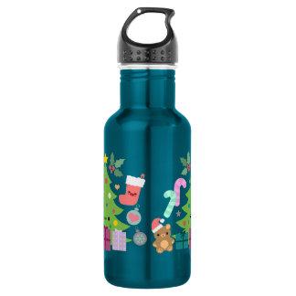 Xmas Cuties 18oz Water Bottle