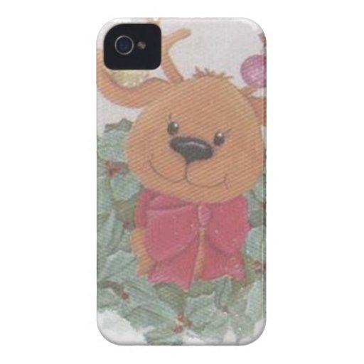 XMAS DEAR iPhone 4 CASE