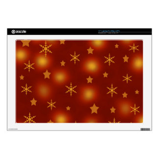 Xmas design decals for laptops