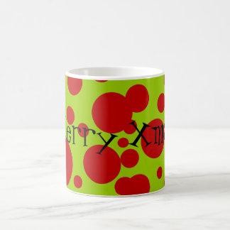 Xmas Dots Coffee Mug
