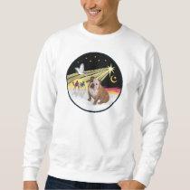 Xmas Dove (R) - English Bulldog 1 Sweatshirt