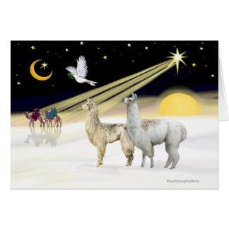 Xmas Dove - Two Llamas Card