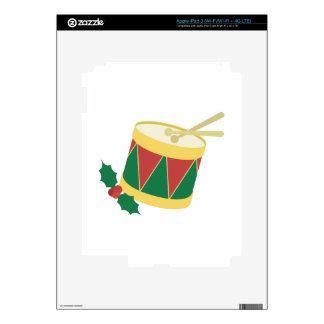 Xmas Drum iPad 3 Decals