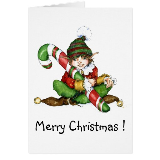 XMAS eleven and CandyCane'09, Merry Christmas! Greeting Card