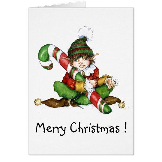 XMAS eleven and CandyCane'09, Merry Christmas! Card