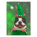 Xmas Elf Greeting Cards