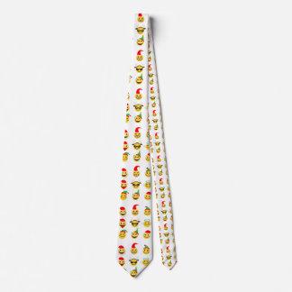 xmas emoji happy faces christmas menswear necktie