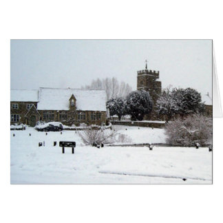 Xmas (English Village) Card