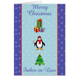 Xmas Father in Law Card