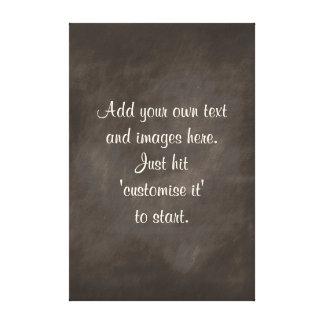 Xmas Gift ideas retro chalkboard sayings signs Canvas Print