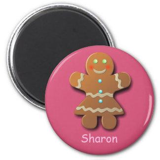 Xmas Gingerbread Girl Magnet